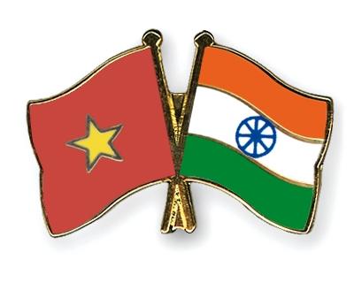 Vietnam India Flag