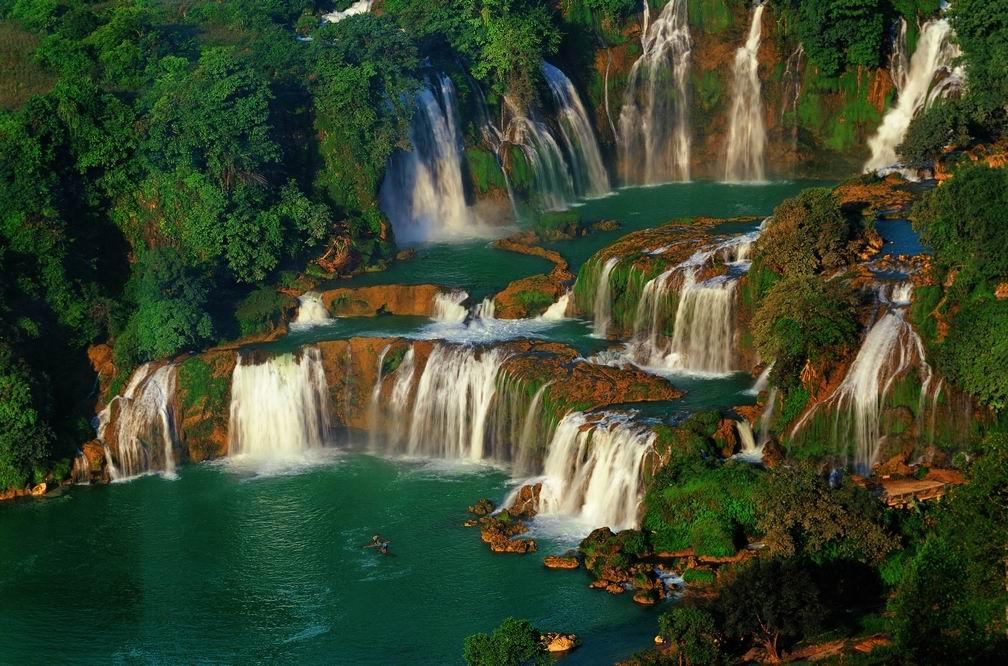 Ban Gioc, Ban Gioc waterfall