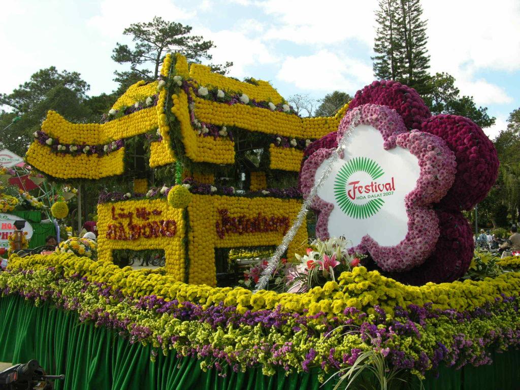 Flowers Festival in Da Lat