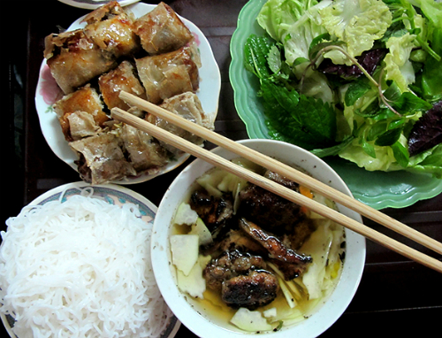 Bun Cha, Bun Cha is ranked in top the world's best street foods