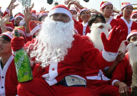 Binh Duong Province celebrate Christmas and New Year with 2 records