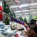 Christmas Fair held in Thong Nhat Park in 2014